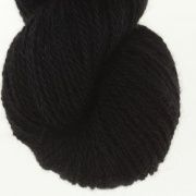 Svart black 50% angora / 50% merino, 7g, 20g eller 100g