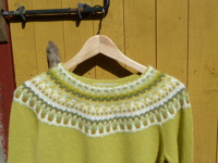 """Lemon, gul"" jumper. Foto P. Silfverberg"