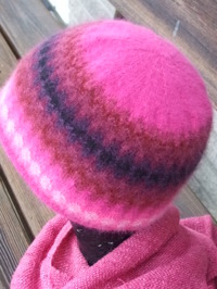 """Palmen Röd"" hat. Photo S. Gustafsson"