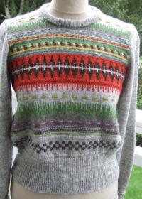 """""""Röda Randen"""" pullover. Photo S. Gustafsson"""