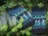 """""""Skogsmörkret"""" wristlets. Photo S. Gustafsson"""