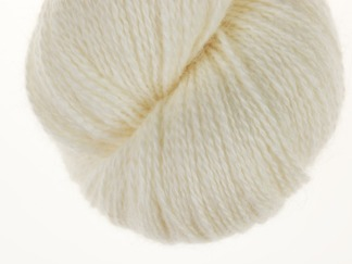Natural white Lambswool - 100g
