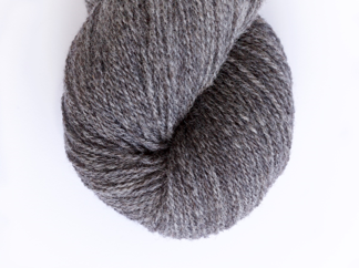 Natural Dark Gray Lambswool - 100g