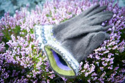 """""""Allvaret"""" fingervantar. Foto Karin Björk"""