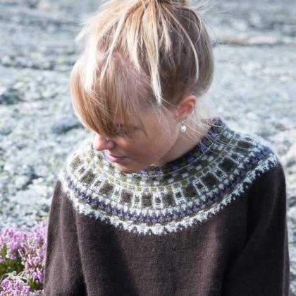 """""""Allvaret"""" pullover. Photo Karin Björk"""