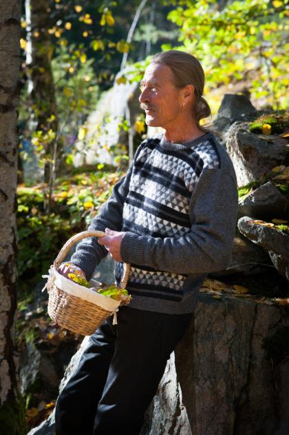 Mountain Peaks mens pullover. Foto K. Björk