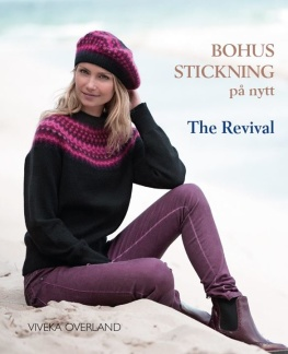 Bohus Stickning på nytt, The Revival - Bok Bohus Stickning på nytt, The Revival