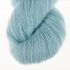 Den Blå pullover cardigan Bohus Stickning - Extra 100g bottenfärg / maincolor 148 angora/merino