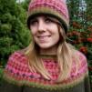 Rött Ljus pullover cardigan Bohus Stickning - The Red Light pullover/cardigan kit english instruction