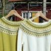 Lemon Gul pullover cardigan Bohus Stickning