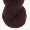 Nya Azalean Aubergine pullover cardigan Bohus Stickning - Extra 100g bottenfärg / maincolor 208 angora/merino