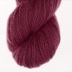 Nya Azalean Aubergine pullover cardigan Bohus Stickning - 20g patterncolor 99 handdyed angora/merino