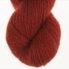 Nya Azalean Aubergine pullover cardigan Bohus Stickning - 20g patterncolor 39 handdyed angora/merino