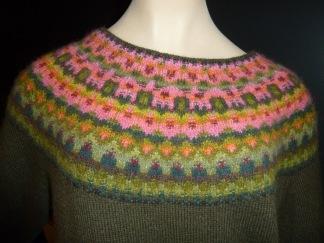Vattenmelonen pullover cardigan Bohus Stickning - Vattenmelonen jumper/kofta kit