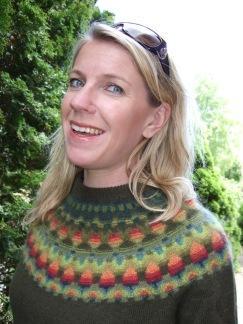 Vildäpplet pullover cardigan Bohus Stickning - Vildäpplet jumper/kofta kit