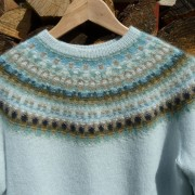 Bleka Skimret pullover cardigan Bohus Stickning