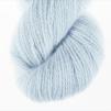 Blå Blomman pullover cardigan Bohus Stickning - Extra 100g bottenfärg / maincolor 134 angora/merino