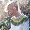 Gula Spetskragen pullover cardigan Bohus Stickning - The Yellow Lace Collar pullover/cardigan kit english instruction