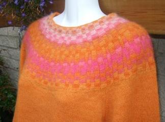 Den Rutiga pullover cardigan Bohus Stickning - Den Rutiga jumper/kofta kit