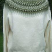 Myrten Grön pullover cardigan Bohus Stickning