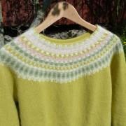 Våren pullover cardigan Bohus Stickning
