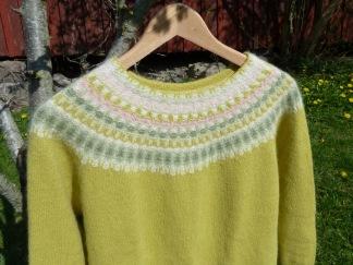 Våren pullover cardigan Bohus Stickning - Våren jumper/kofta kit