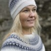 Ägget Grått pullover cardigan Bohus Stickning - The Gray Egg pullover/cardigan kit english instruction