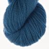 Royal Blue pullover cardigan Bohus Stickning - 20g patterncolor 232 handdyed angora/merino