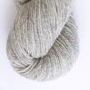 Blå Randen pullover cardigan Bohus Stickning - Extra 100g gray bottenfärg / gray maincolor lambswool