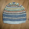Blå Randen pullover cardigan Bohus Stickning - The Blue Edge hat kit english instruction