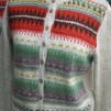 Röda Randen pullover cardigan Bohus Stickning - The Red Edge pullover/cardigan kit english instruction
