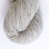 Röda Randen pullover cardigan Bohus Stickning - Extra 100g gray bottenfärg / gray maincolor lambswool
