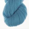 Ägget Blått pullover cardigan Bohus Stickning - 20g patterncolor 331 handdyed angora/merino