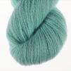 Ägget Blått pullover cardigan Bohus Stickning - 20g patterncolor 329 handdyed angora/merino