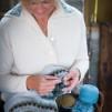 Bleka Skimret pullover cardigan Bohus Stickning - The Pale Shimmer hat kit english instruction