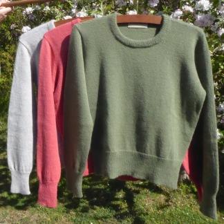 Enfärgad jumper Bohus Stickning - Färg BS 297 jumper Bohus Stickning kit (XXS, XS, S)
