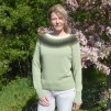 Cocospalmen pullover cardigan Bohus Stickning - The Cocos Palm pullover/cardigan kit english instruction