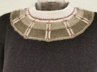 Rådjurspåret pullover Bohus Stickning - Rådjurspåret Grön jumper kit