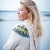 Gul Eld pullover cardigan Bohus Stickning - Yellow Fire pullover/cardigan kit english instruction