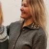 Vintern jacket Bohus Stickning - The Winter jacket with collar kit english instruction