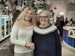 Pernille i Stjärnorna och Solveig i Blå Dimman. Jubileum 2019. Foto Ingalill Hammar