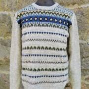 Blå Eskimå - Blue Eskimo pullover cardigan Bohus Stickning