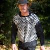 Yxorna pullover Bohus Stickning - The Axes pullover english instr. black/white kit