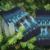 Skogsmörkret Svart pullover cardigan Bohus Stickning - The Forest Darkness, black mc wristlets kit english instr.