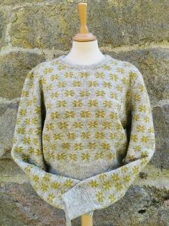Blomsterstjärnan pullover Bohus Stickning - Blomsterstjärnan jumper kit