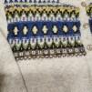 Blå Eskimå - Blue Eskimo pullover cardigan Bohus Stickning - Blue Eskimo straight yoke english instr. men´s pullover cardigan kit