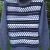 Fjäll pullover and jacket Bohus Stickning - The Mountain Peaks man´s pullover gray kit,  english instruction