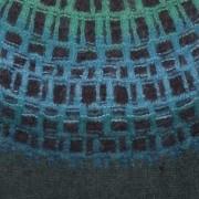 Gallret Grönt pullover cardigan Bohus Stickning