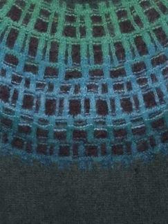 Gallret Grönt pullover cardigan Bohus Stickning - Gallret Grönt jumper/kofta kit