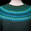 Green Wood pullover cardigan Bohus Stickning - Green Wood pullover/cardigan kit english instruction